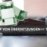 Einkauf von Übersetzungen » Praktische Tipps