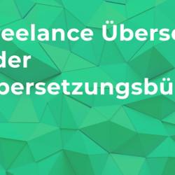 Freelance Übersetzer